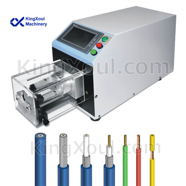 Automatic Coaxial Cable Stripping Machine