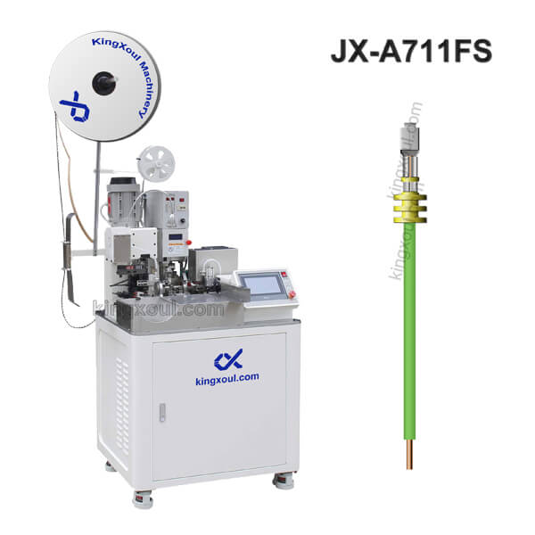 Single End Seal Insertion Terminal Crimping Machine