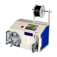 USB cable coiling wrapping machine, automatic wire cable coil winding machine