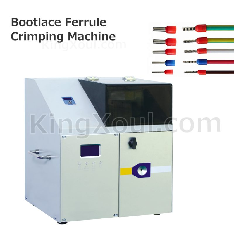 bootlace ferrule crimper machine manufacturer
