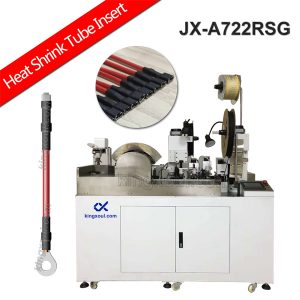 heat shrink tube processing and wire terminal crimping machine
