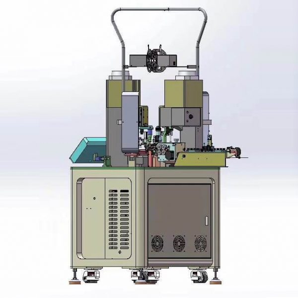 Stripping crimping machine research and design