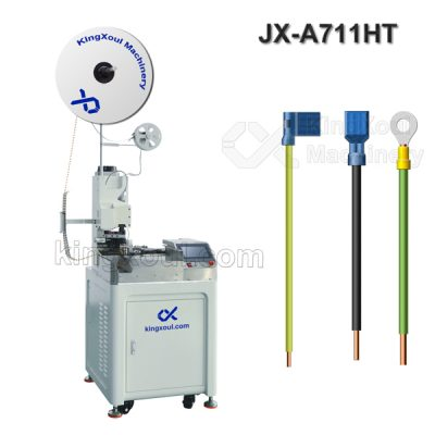 Wire Cable Automatic Insulated Terminal Crimping Machine (Single Head)
