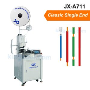 Classic single end automatic crimping machine