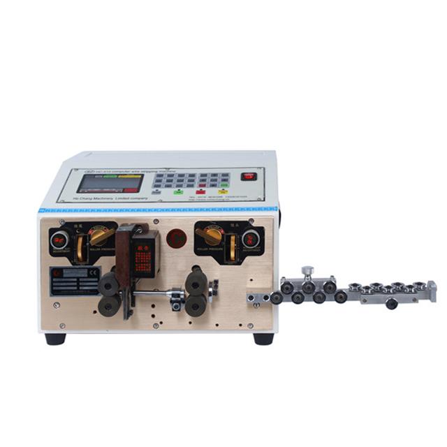 automatic teflon wire cutting stripping machine