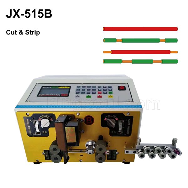 JX-515B wire cutting and stripping machine