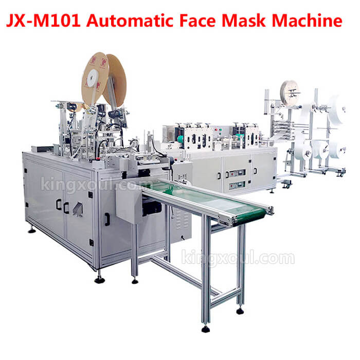 Automatic medical face mask machine supplier