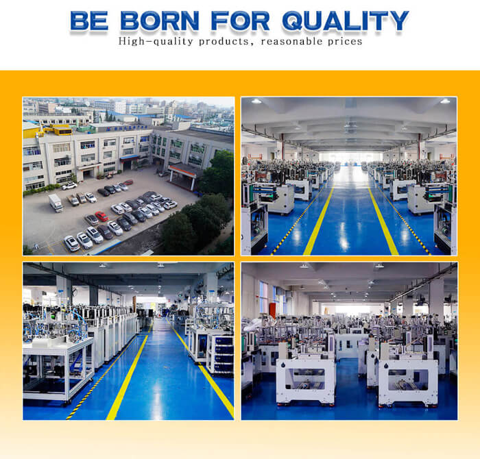 automatic surgical masks machine factory view