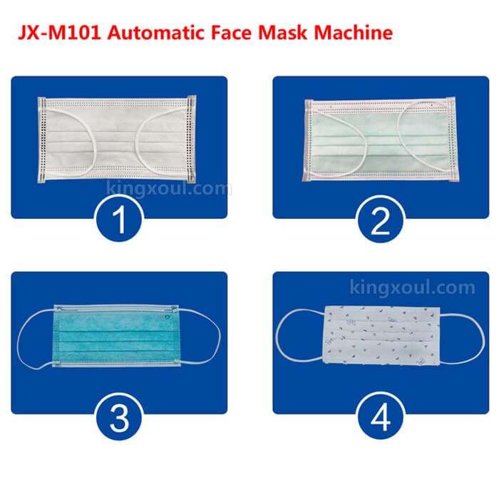 how to produce medical masks by automatic machine