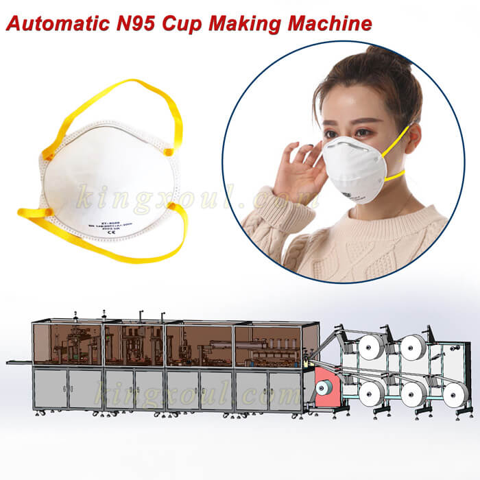 automatic-surgical-n95-cup-mask-making-machine