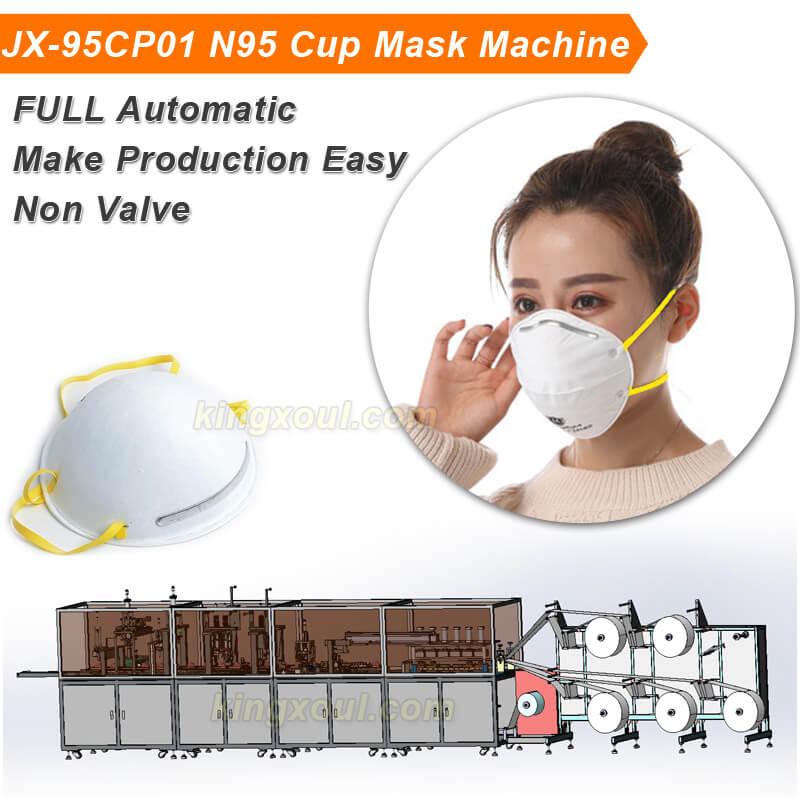 JX-95CP01-N95-Cup-Making-Machine