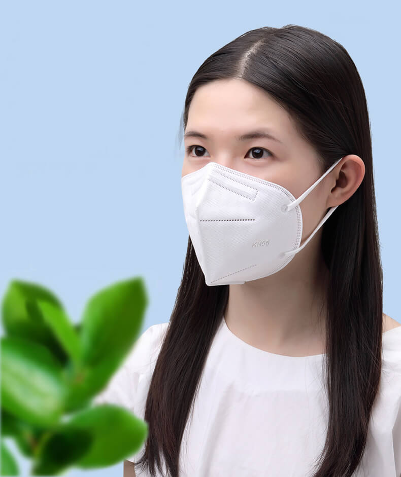 N95 Face Mask Foldable without Valve