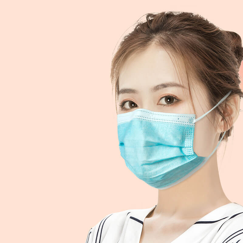 flat face mask